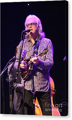 Musician Ricky Skaggs And Kentucky Thunder Canvas Print by Concert Photos