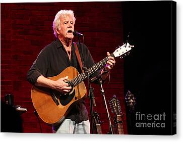 Musician Tom Rush Canvas Print by Concert Photos