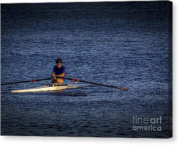 Must Get Faster Canvas Print by Marvin Spates