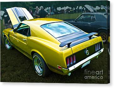 Mustang Boss 302 Canvas Print