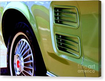 Canvas Print - Mustang Memories - 3 by Mary Deal