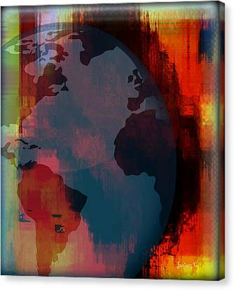 Mute And Observing Canvas Print by Fania Simon