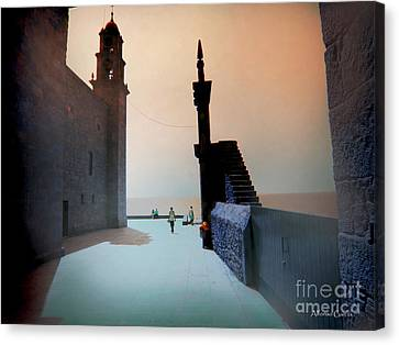 Canvas Print featuring the photograph Muxia by Alfonso Garcia