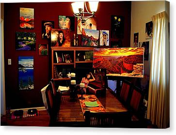 My Artwork At Home Canvas Print