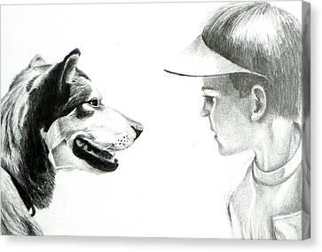 My Best Friend  Canvas Print by David Ackerson