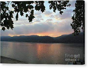 My Birthday Sunrise Canvas Print