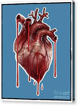 My Bleeding Heart Canvas Print