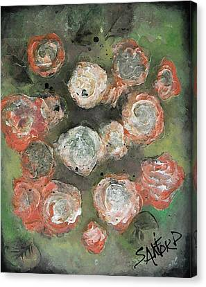 My Bloomers Canvas Print by Amanda  Sanford