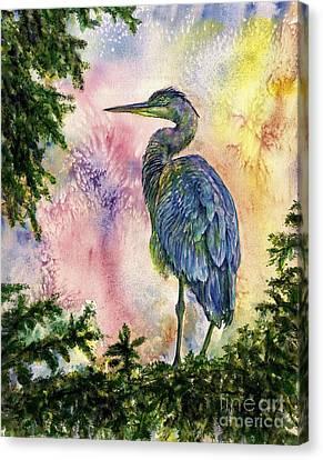 My Blue Heron Canvas Print
