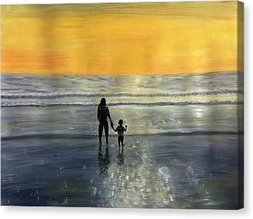 My Boy And I Canvas Print