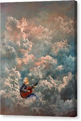 My Brother  My Friend Canvas Print by Randy Burns