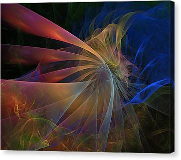 Canvas Print featuring the digital art My Brothers Voice by NirvanaBlues