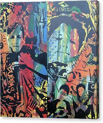 My Bubbas Canvas Print by Ottoniel Lima