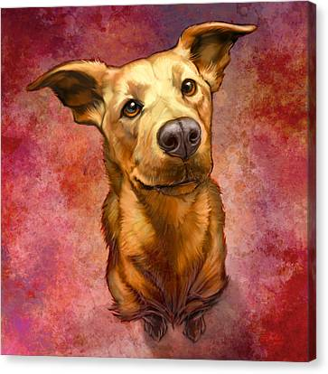 My Buddy Canvas Print by Sean ODaniels
