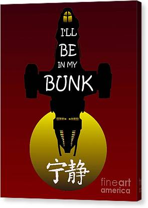 My Bunk Canvas Print by Justin Moore