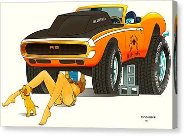 My Camaro Canvas Print by Lynn Rider