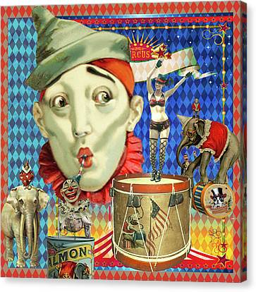 Canvas Print featuring the photograph My Circus by Jeff Burgess