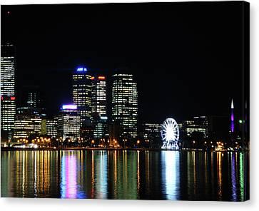My City  Perth Canvas Print by Kelly Jones