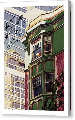My Corner Of The World Canvas Print by Mike Hill