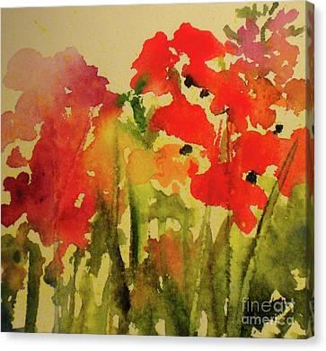 My Cottage Garden At Silver Vista Canvas Print
