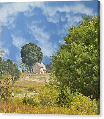 My Country Home Canvas Print