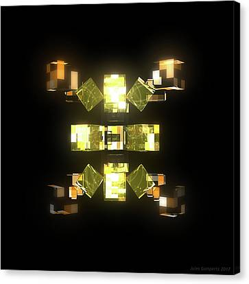 Canvas Print - My Cubed Mind - Frame 085 by Jules Gompertz