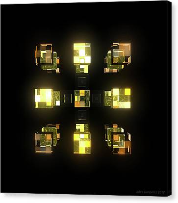 Canvas Print - My Cubed Mind - Frame 141 by Jules Gompertz