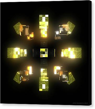 Canvas Print - My Cubed Mind - Frame 172 by Jules Gompertz