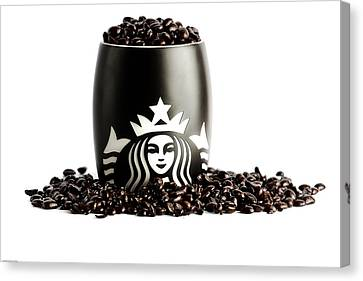 My Cup Runneth Over Canvas Print by Keith Allen