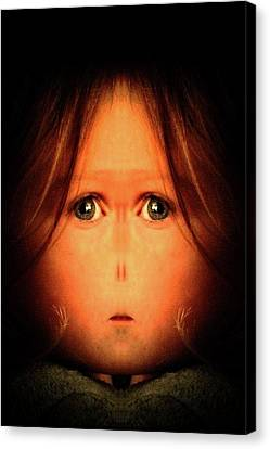 My Daughter Canvas Print by Tisha Beedle