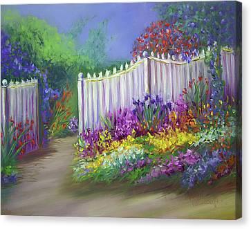 My Dream Garden Canvas Print