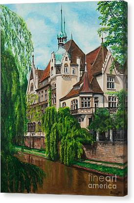 My Dream House Canvas Print by Charlotte Blanchard