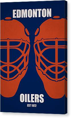 My Edmonton Oilers Canvas Print by Joe Hamilton