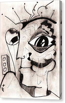 My Eye Is On You Canvas Print by Jimmy King