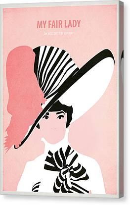 Fed Canvas Print - My Fair Lady by Fraulein Fisher