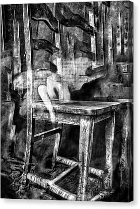 My Favorite Chair 2 Canvas Print