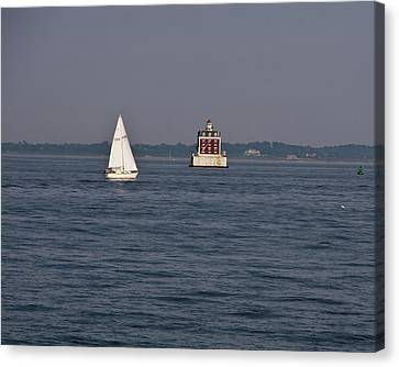 My Favorite Lighthouse Canvas Print by Gerald Mitchell