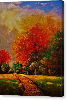 My Favorite Park Canvas Print