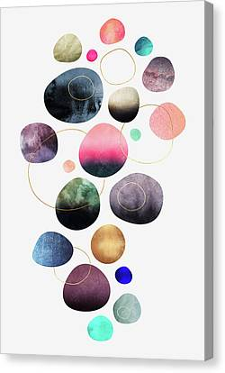 My Favorite Pebbles Canvas Print by Elisabeth Fredriksson