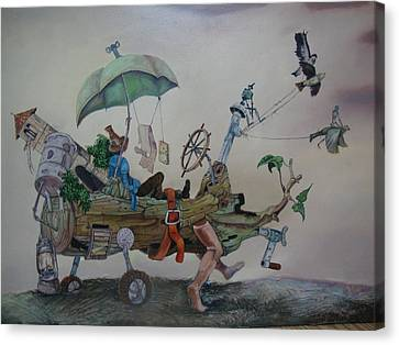 My Favorite Toy Canvas Print by Carlos Rodriguez Yorde