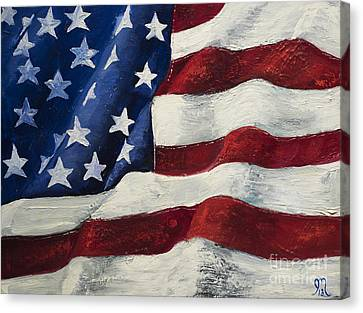 My Flag Canvas Print