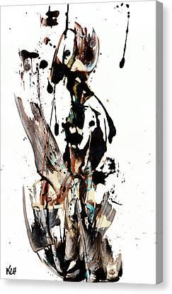 My Form Of Jazz Series 10062.102909 Canvas Print by Kris Haas