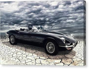 my friend the Jag Canvas Print by Joachim G Pinkawa