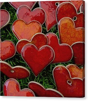 My Funny Valentine Canvas Print by Marcus Hammerschmitt
