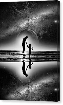My Future Canvas Print by Kevin Cable