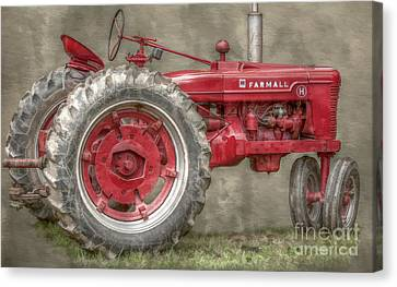 My Grandfathers Tractor Canvas Print by Randy Steele