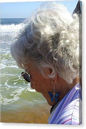My Grandmother Canvas Print by Scarlett Royal