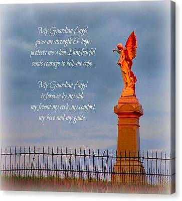 My Guardian Angel Canvas Print by Julie Dant