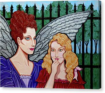 My Guardian Angel Canvas Print