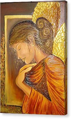 My Guardian Angel Canvas Print by Xafira Mendonsa